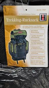 MULTIFUNKTIONSRucksack NEU 65 Liter Wandern Campen Transportieren Trekking Staur