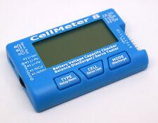 RC Cellmeter-8 1-8s Battery Capacity Voltage Checker Meter Lipo Li-lon NiMH