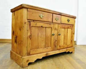 Antique farmhouse cupboard - side cabinet - sideboard