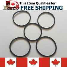 5Pcs Replacement DVD Drive Tray Motor Rubber Belt Ring Part For Xbox 360 / Slim