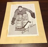 1935 -1940 Crown Brand Syrup Hockey Dave Kerr #64 New York Rangers