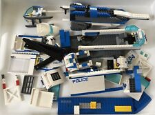 Lego City spares bundle police car helicopter mobile unit station motorcycle etc