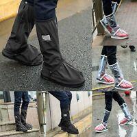 Men Women Reusable Rain Shoe Cover Waterproof Boot Overshoes Boots Protector New