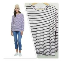 [ COUNTRY ROAD ] Womens Tinted Stripe Top  | Size S or AU 10 or US 6