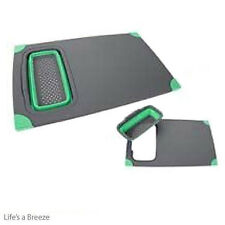 Pop Up Chopping Board and Colander. Lime for Camping Caravans & Motorhomes