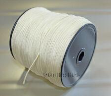 150m auf Rolle Nylonseil Polyamid-Seil geflochten weiß 2mm Neu&OVP