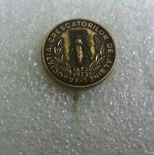 Romanian Beekeeping Association pin/badge-Anniversary(1873-1973)