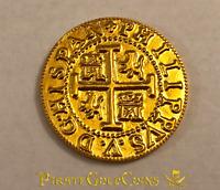 """PERU 1708 8 ESCUDOS """"ROYAL 1715 FLEET"""" PURE GOLD 22KT DOUBLOON TREASURE COIN!"""