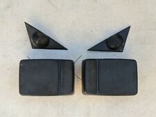 1984-1991 BMW E30 Premium front and rear black speakers tweeters parcel