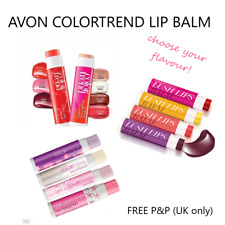 Avon ColorTrend Lush Lip Balms Flavoured Great for Kids! NEW SEALED **FREE P&P**