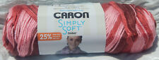 Caron Simply Soft Yarn Ombre in Rosewood Ombre 5oz Skein NIP Non-Smoking Home