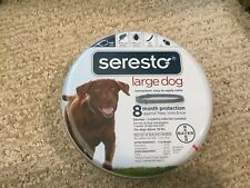 Seresto 8 Month Flea & Tick Collar for Large Dogs Above 18 lbs