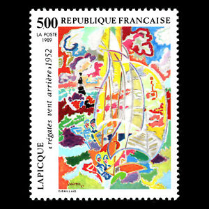 France 1989 - Painting by Charles Lapique Art - Sc 2161 MNH