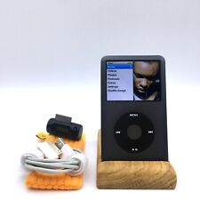  Apple iPod Classic 7th 120gb Black + FM Transmitter and Soft Cover ★★★★★