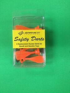 BARNETT REPLACEMENT SUCKER DARTS FOR BANDIT  - package of 6 darts