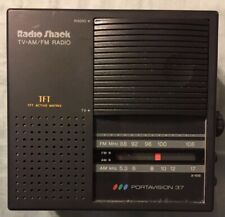 Radio Shack Tv Am Fm Radio Tft Active Matrix. Vintage 2in Television