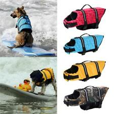 Dog Light Reflective Preserver Safety Float Vest Water Life Jacket Clothes