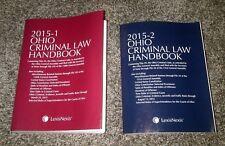 (TWO)  2015-1 / 2015-2 Ohio Criminal Law Handbook by LexisNexis