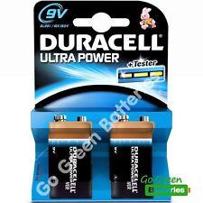 Duracell Alkali-Mangan Einweg-Batterien als 9 V-Blöcke