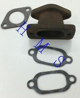 JLO ROCKWELL EXHAUST MANIFOLD FITS L295 R295 L297 L300 L340 R340 USED CONDITION