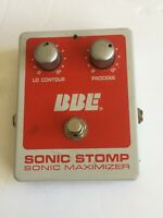 BBE Sonic Stomp Sonic Maximizer Aural Enhancer Effects Pedal USA  Works great