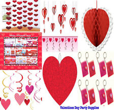 Happy Valentine Party Decoration Supplies ~Red Honeycomb Ball Favors Swirl
