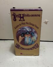 The Jimi Hendrix Experience-Learn To Play The Songs From Are You Experienced Vhs