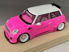 1/18 Mini Cooper LB Performance Liberty walk  Pink Alcantara Base  N BBR  MR