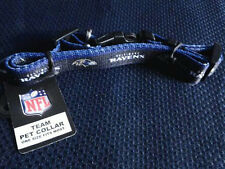 BALTIMORE RAVENS NFL Team Dog Collar - NEW - b