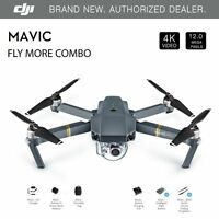 DJI Mavic Pro Fly More Combo W/4K Stabilized Cameral, Active Track, AvoidanceGPS