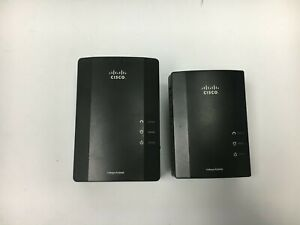 Cisco Linksys Powerline AV 1 Port Ethernet Network Adapters Models PLE400 PLS400