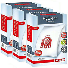 Genuine Miele FJM HyClean Vacuum Cleaner S6210 Dust Bags Filters - 3 Boxes