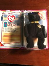 "Ty Beanie Babies ""The End"" Bear 1999 With RARE Mint Condition"
