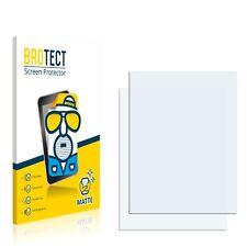 2x Displayschutzfolie Matt für Fujitsu Siemens Pocket Loox N560 Schutzfolie