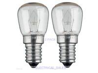 Bombilla Para Horno 300°C Electrodoméstico Lámpara E14-25w - Pack 2