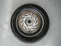 REAR WHEEL RIM TYRE DISC YAMAHA XV1600 XV 1600 ROAD STAR 2007
