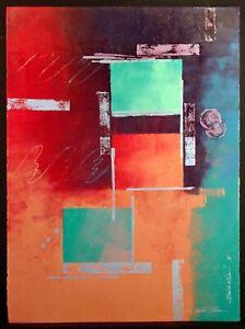 "Kristen Olsen ""Illumination VI"" Hand Signed Original Painting Artwork Make Offer"