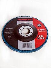 Disco de láminas de pulir P80 125 mm T27 (Pack 10 unidades)