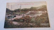 Architecture Postcard The Terraces Central Park NY Pre-Linen Antique 1914 vtg