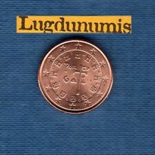 Portugal 2009 1 centime d'euro SUP SPL Pièce neuve de rouleau - Portugal