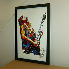 Randy Rhoads, Ozzy, Guitar, Heavy Metal, Hard Rock, Music, 11x17 PRINT w/COA