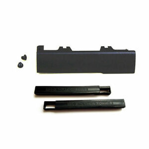 New Hard Drive Caddy Cover + 7mm Isolation Rubber Rails For Dell Latitude E6540