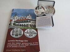 SLOWAKEI 2017 20 EURO SILBER MÜNZE COIN PP PROOF - LEVOCA + HAUPTALTAR ST. JAKOB