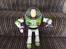 "disney buzz lightyear interactive talking lights  12""  toy boys Toy Story💙❤️💚"