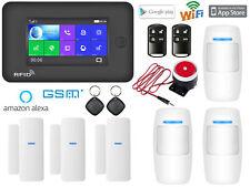 T24 APP WiFi+GSM+RFID Wireless Home Security Alarm Burglar System+Amazon Alexa