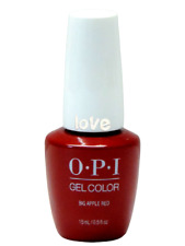 Opi GelColor New Gel Nail Polish Soak-Off Gc N25- Big Apple Red