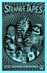 Strange Tapes #7 Magazine video fanzine Lunchmeat VHS covers tape reviews
