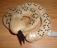 "Rattle Snake curled up 6"" plush by Zoona 2003"