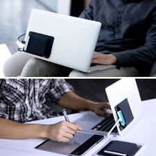 Adhesive Laptop Back Storage Bag Mouse Digital Hard Drive Organizer Pouch Bag
