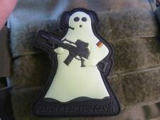 JTG cmiyc Ghost Sniper Patch, GID (Glow in the Dark)/3d Rubber Patch